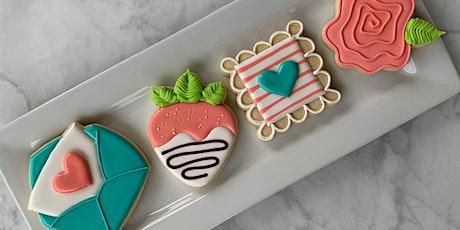 Valentine Cookies Decorating Class tickets