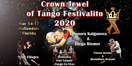Crown Jewel of Tango Festivalito: Eleonora Kalganova and Friends tickets