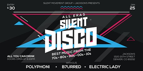 All You Can Drink All Eras Silent Disco tickets