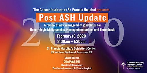 2020 Post ASH Update