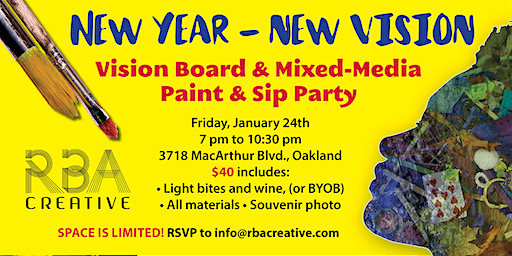 New Year New Vision Paint and Sip