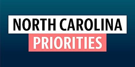 2020 NC Priorities tickets