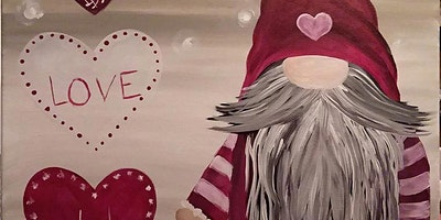 Gnome Love Paint Event with The Crazy Paint Lady