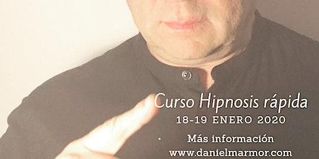 Curso de Hipnosis Rápida Barcelona entradas