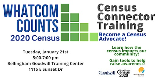 2020 Census Connector Training: Become a Census Advocate!