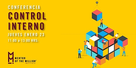 Conferencia: Control Interno | Puebla, Pue. boletos