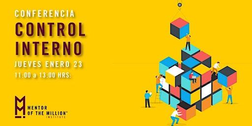 Conferencia: Control Interno | Puebla, Pue.