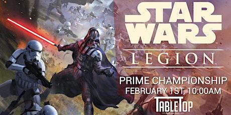 2020 Star Wars Legion Prime Championship tickets