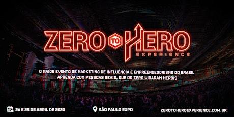 Zero To Hero Experience 2020 ingressos