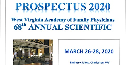 Prospectus - WVAFP 2020 Annual Scientific Assembly tickets