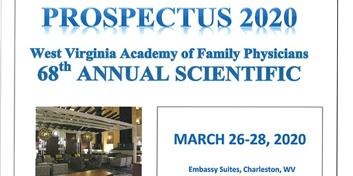 Prospectus - WVAFP 2020 Annual Scientific Assembly