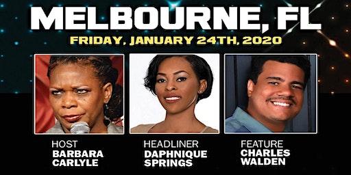 MELBOURNE, FL- Daphnique Springs and Friends
