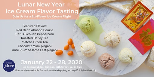 Lunar New Year Ice Cream Tasting Party 2020