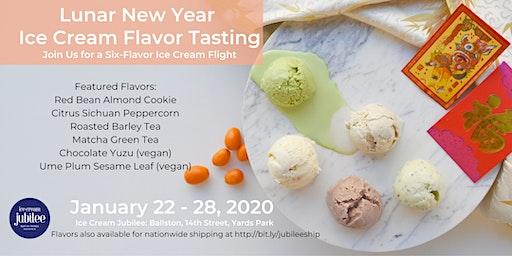 Lunar New Year Ice Cream Tasting Party 2020