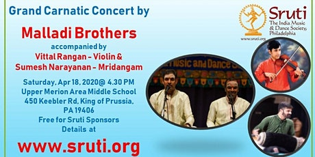 Malladi Brothers - A Grand Carnatic Music Concert tickets