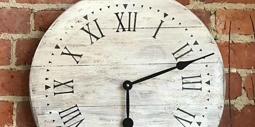 Farmhouse Clock Workshop