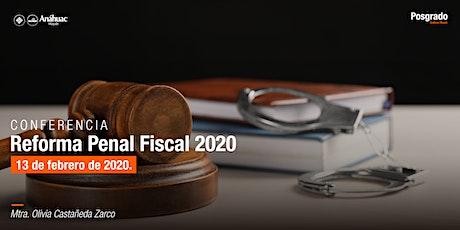 Conferencia: Reforma Penal Fiscal 2020 boletos
