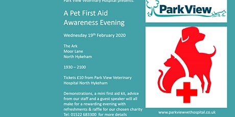 Pet First Aid Information Evening tickets