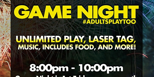 Adult Only Game Night at Launch