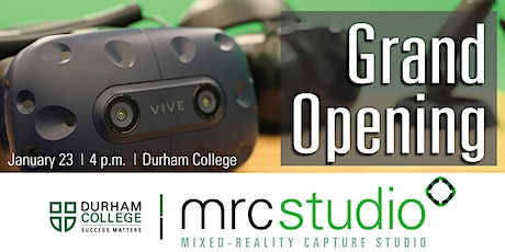 Mixed-Reality Capture Studio Grand Opening tickets
