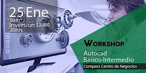 Workshop Autocad Básico-Intermedio