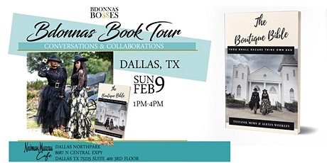Bdonnas Book Tour Dallas VIP Experience tickets