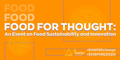 Food For Thought: An Event on Food Sustainability and Innovation