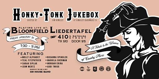 Honky Tonk Jukebox #12: Ladies Night!