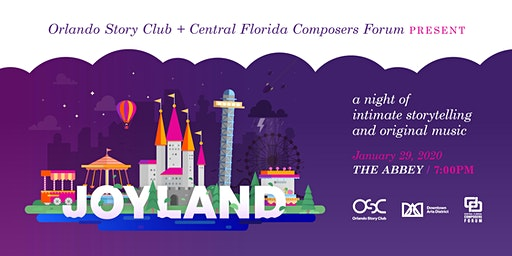 Joyland: A night of intimate storytelling and original music