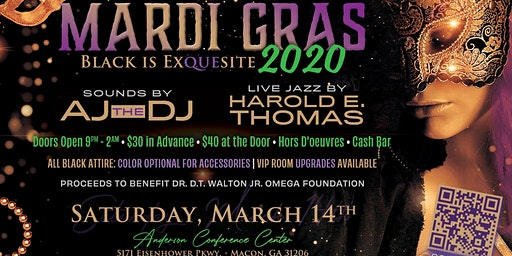 MARDI GRAS 2020: Black Is ExQUEsite