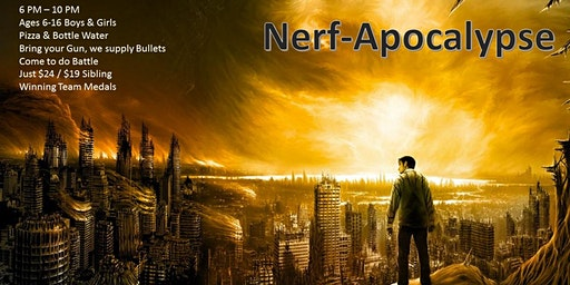 Nerf Apocalypse Feb 22nd