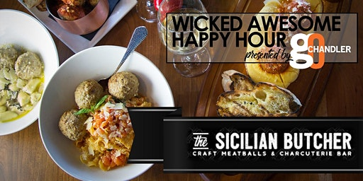 Wicked Awesome Happy Hour Sicilian Butcher