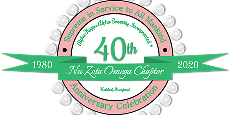 Nu Zeta Omega Chapter - 40th Anniversary tickets