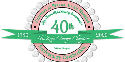 Nu Zeta Omega Chapter - 40th Anniversary