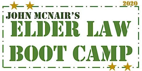 2020 Elder Law Boot Camp tickets