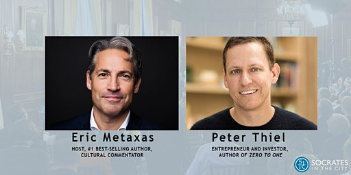 Eric Metaxas Interviews Peter Thiel at Socrates in the City