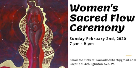 Women's Sacred Flow Ceremony tickets
