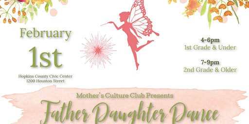 Mother's Culture Club Father Daughter Dance 2020