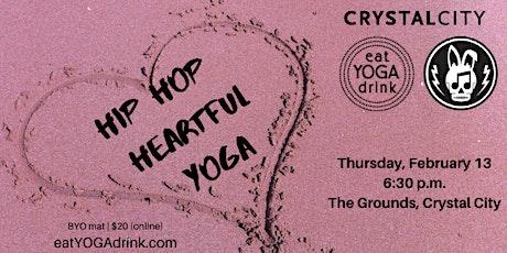 Hip Hop Heartful Yoga tickets