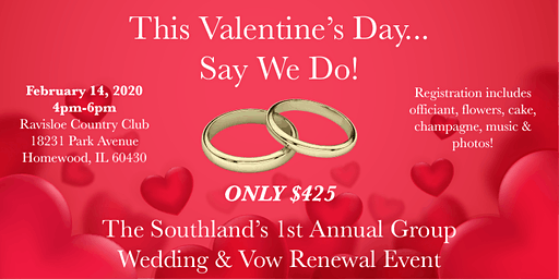 Say We Do! — Southland's 1st Annual Group Wedding & Vow Renewal Event