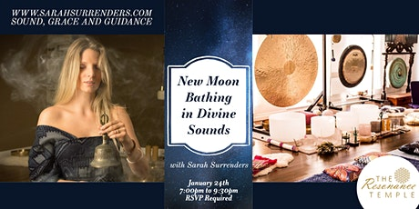 New Moon Bathing in Divine Sounds billets