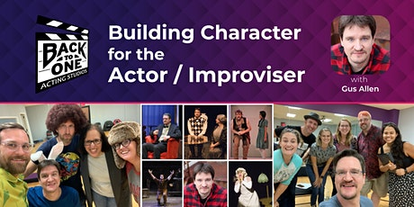 Building Character for the Actor/Improviser tickets