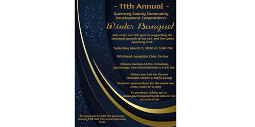 11th Annual Guernsey County Community Development Corp. Winter Banquet