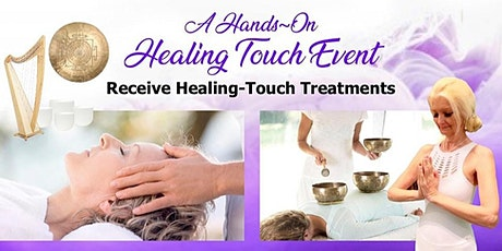 Live-Stream Hands-On Healing Touch & Sound-Bowl Treatments (2.5 hrs) | Donation Based* tickets