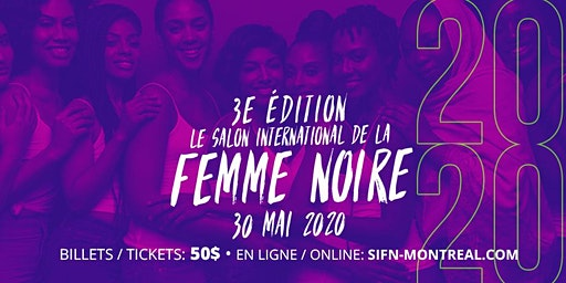 Salon International de la Femme Noire 2020 - 3e édition