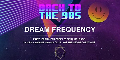 SOKO BACK TO THE 90S - DREAM FREQUENCY (50% SOLD OUT)