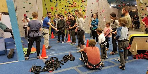 Intro to Climbing- Indoor Rock Climbing Class with UpaDowna