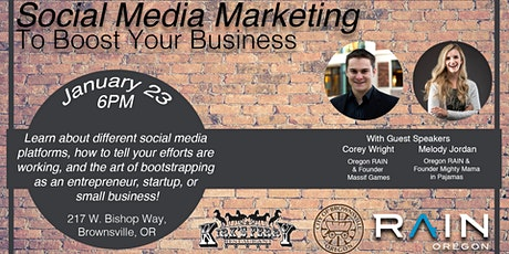Social Media Marketing to Boost Your Business tickets