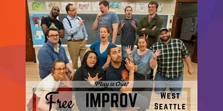 Free Improv Class in West Seattle tickets