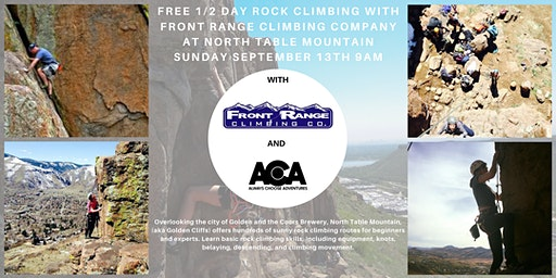 FREE 1/2 Day Rock Climbing at North Table Mountain with Always Choose Adventures